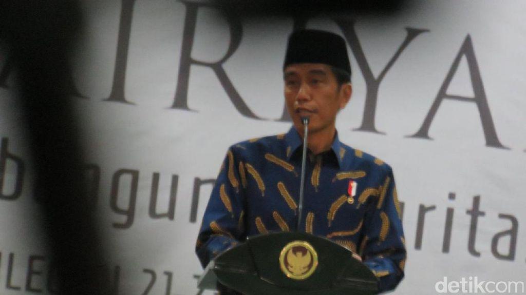 Buka Pospenas ke-7, Presiden Jokowi: Api Jihad Tidak Boleh Padam