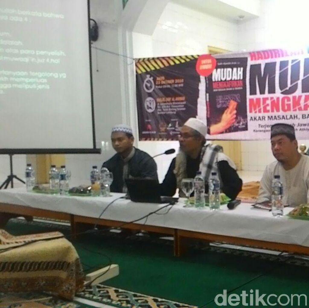 3 Mantan Napi Teroris Ingatkan Warga Lampung Agar Tak Terjebak Pemikiran ISIS