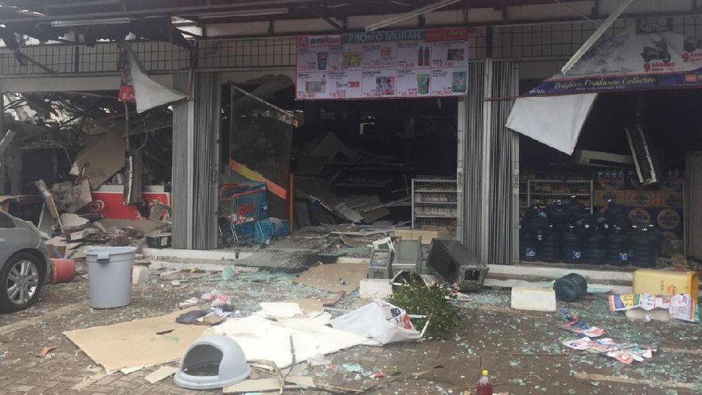Ledakan di PHD Bekasi, 2 Warga dan Beberapa Staf Alfamidi Luka Ringan