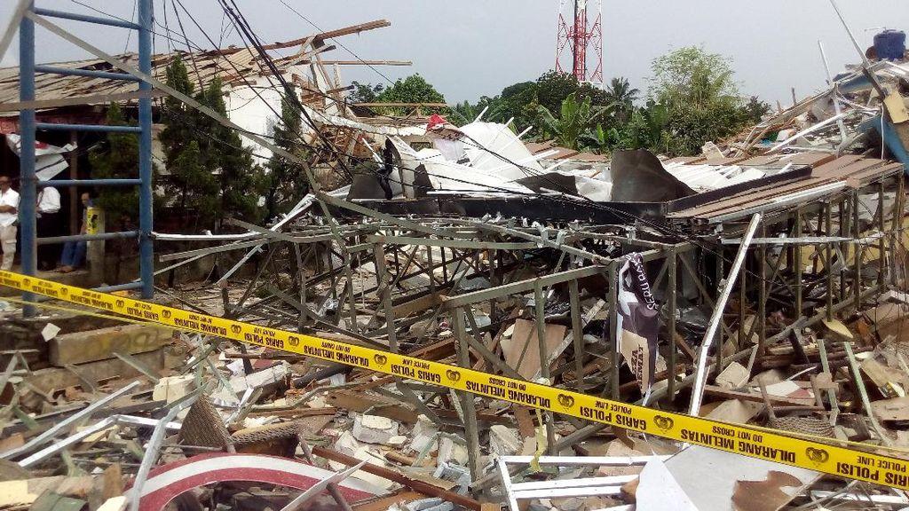 Ini Daftar Bangunan yang Rusak Akibat Ledakan di PHD Pondok Melati
