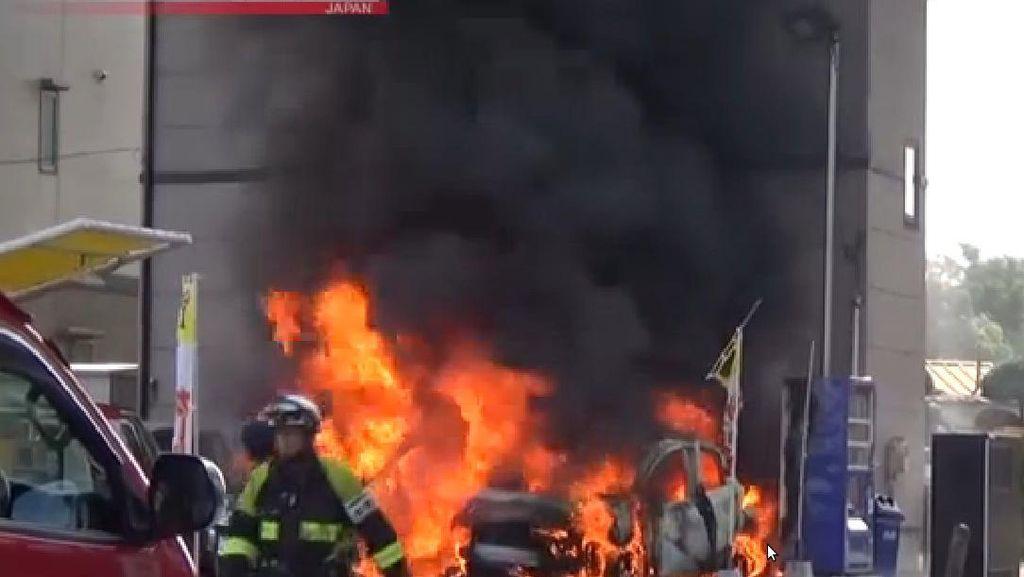 Terjadi 2 Ledakan di Taman Utsunomiya Jepang, 1 Orang Tewas