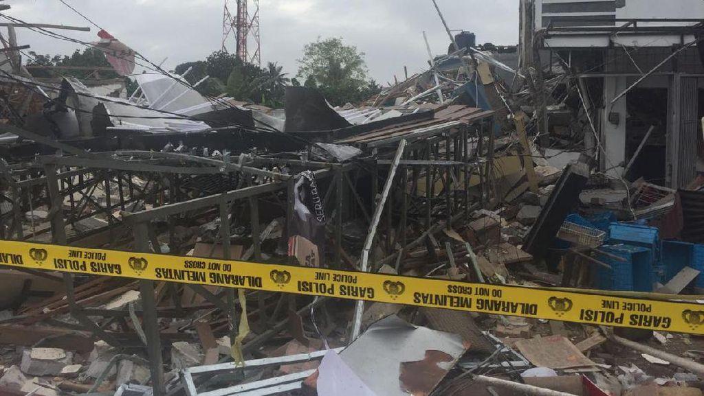 Ledakan di PHD Pondok Melati Bekasi, 3 Rumah dan 1 Mobil Rusak Berat