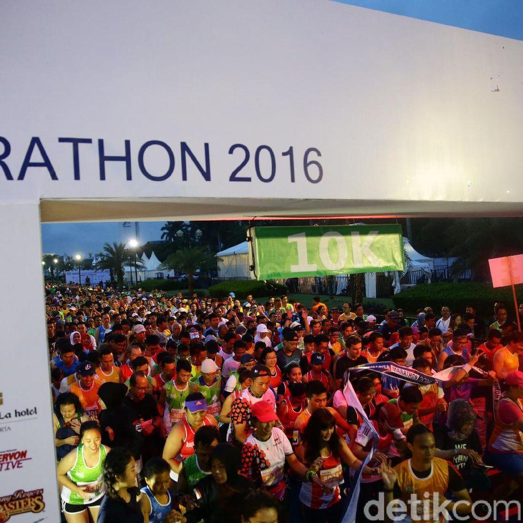 Pelari Kenya Juarai Jakarta Marathon 2016