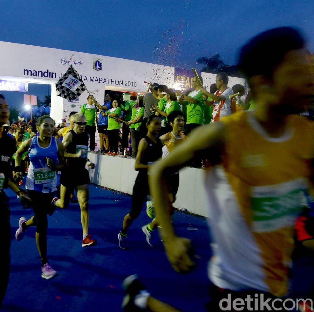 Panitia: Jakarta Marathon Ada Peningkatan Tapi Juga Penurunan
