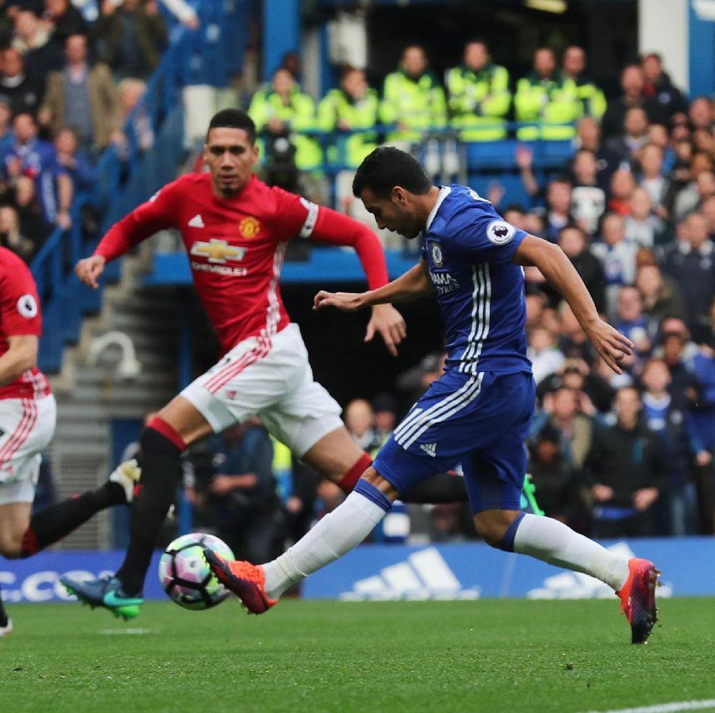 Chelsea Lumat MU 4-0