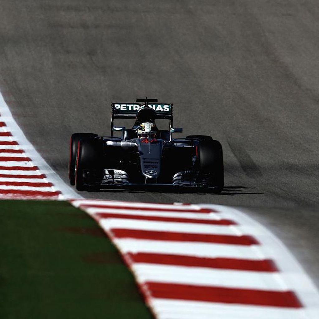 Hamilton Pole, Rosberg di Posisi Dua