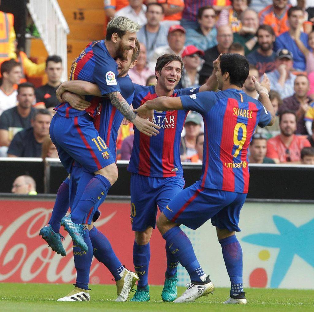Enrique Sebut Barca Sudah Unjuk Karakter Usai Kalahkan Valencia