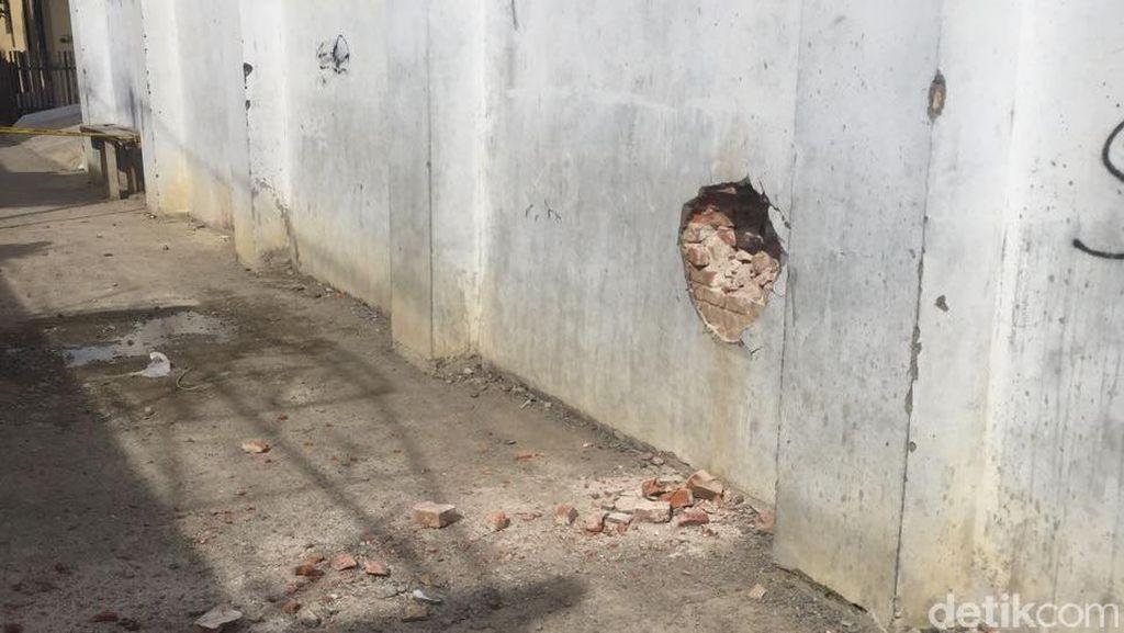 Napi yang Pasang Bom di Tembok LP Lhokseumawe Diduga Ingin Kabur