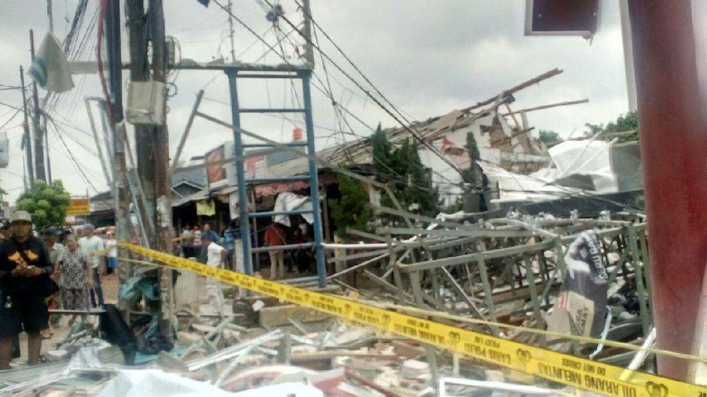 Begini Kronologi Ledakan di PHD Pondok Melati Bekasi