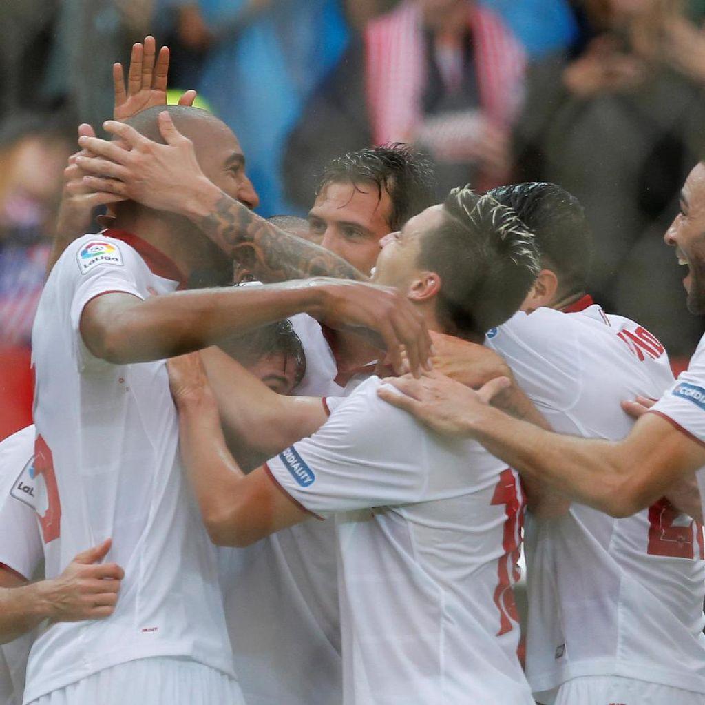 Kalahkan Atletico, Sevilla Sementara Pimpin Klasemen