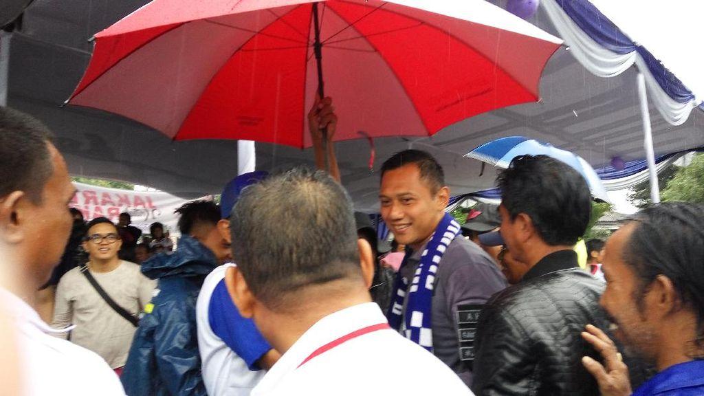 Di Jakut, Agus Yudhoyono: Perjuangan Kita Bersama Tak Ingin Warga Digusur!