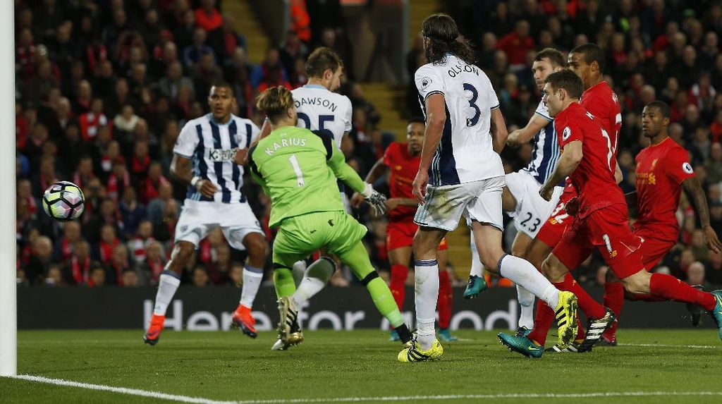 Hantu Bola Mati yang Menggagalkan Liverpool ke Puncak Klasemen