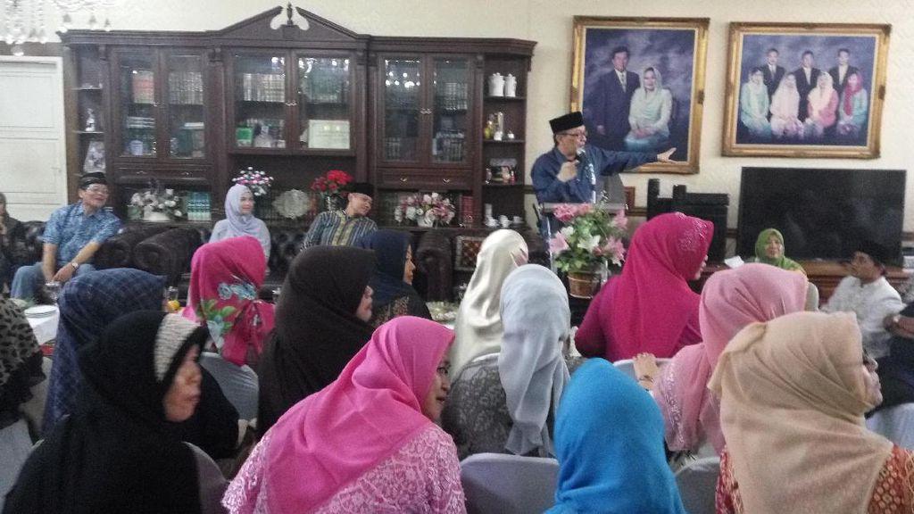 Dapat Dukungan Ustazah, Agus Yudhoyono: Mudah-Mudahan Tidak Mengecewakan