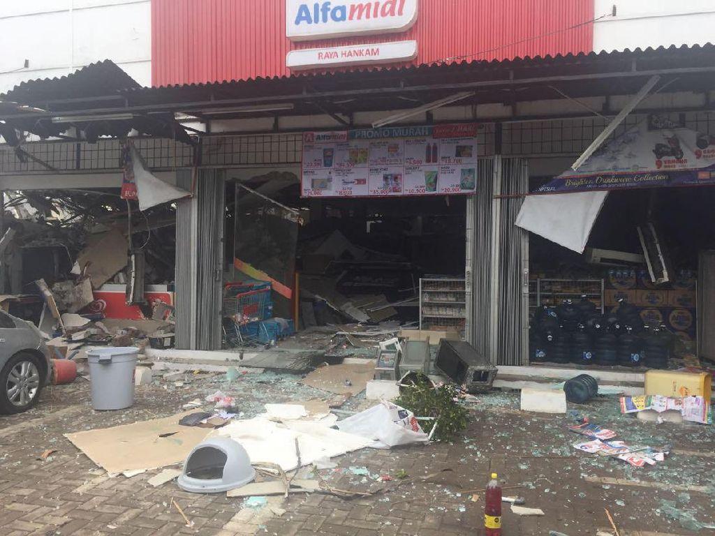 Hancur Total, Begini Kondisi Ledakan di PHD Pondok Melati Bekasi