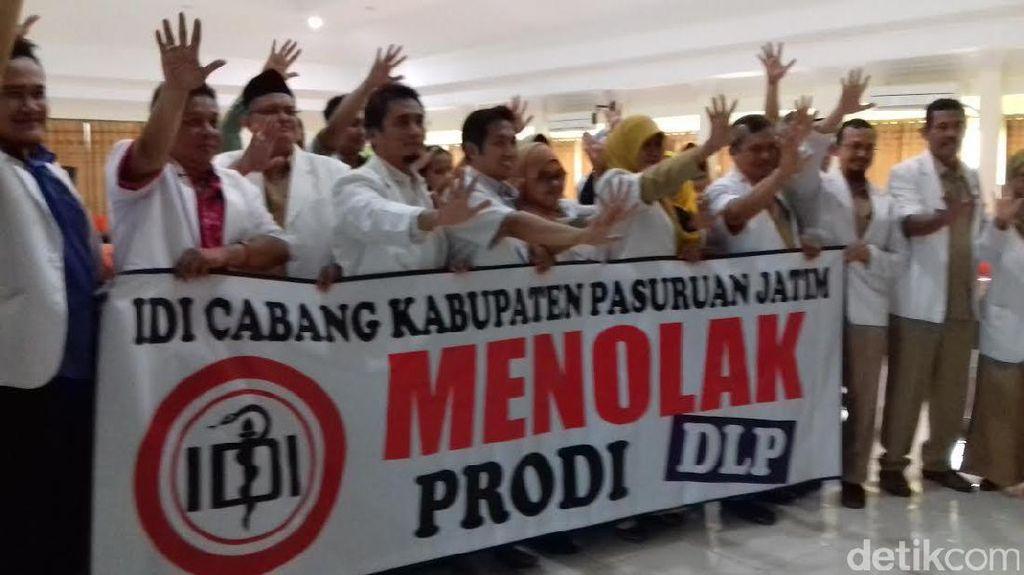 IDI Kabupaten Pasuruan Tolak Prodi Dokter Layanan Primer