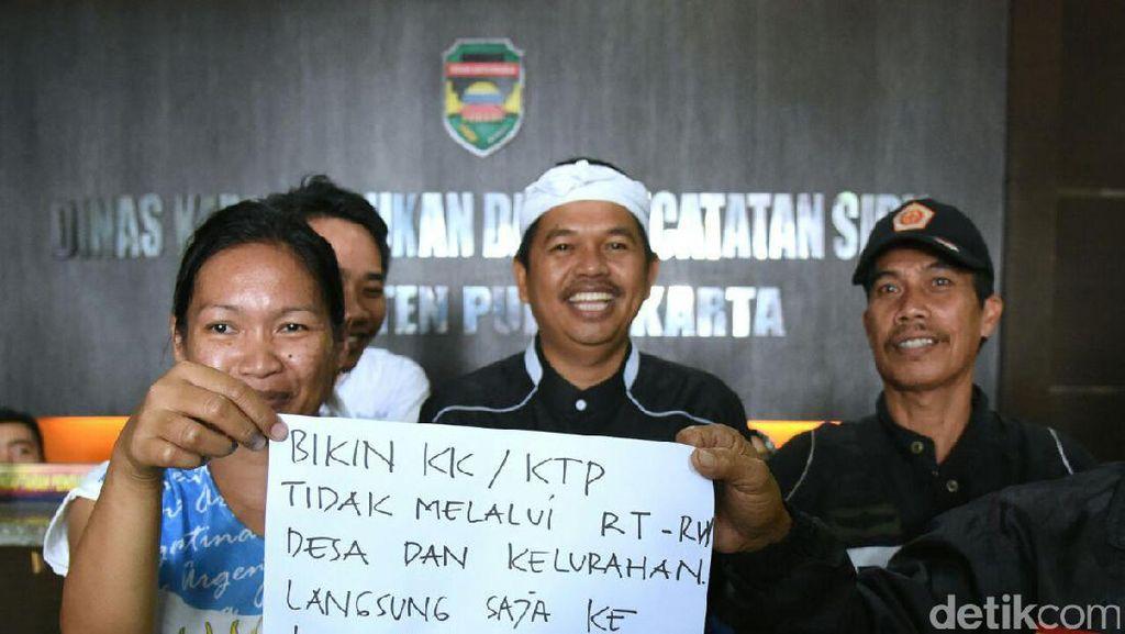 Potong Birokrasi ala Purwakarta, Bikin KTP Tak Perlu Pengantar RT dan Desa