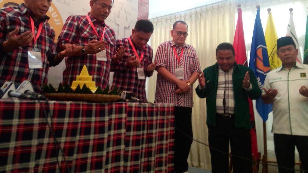 Ratusan Relawan Akan Kawal Ahok-Djarot dalam Pengundian Nomor Pilgub DKI