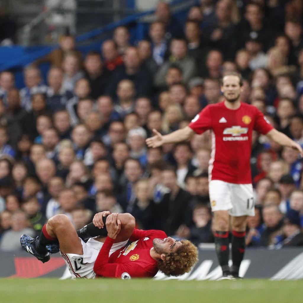 Wasit Chelsea vs MU Dikritik karena Tak Beri Kartu Merah ke David Luiz