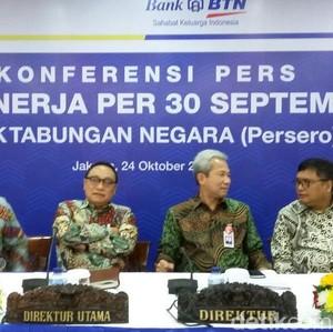 Hingga Akhir September, BTN Tampung Dana Tebusan Tax Amnesty Rp 408,7 M