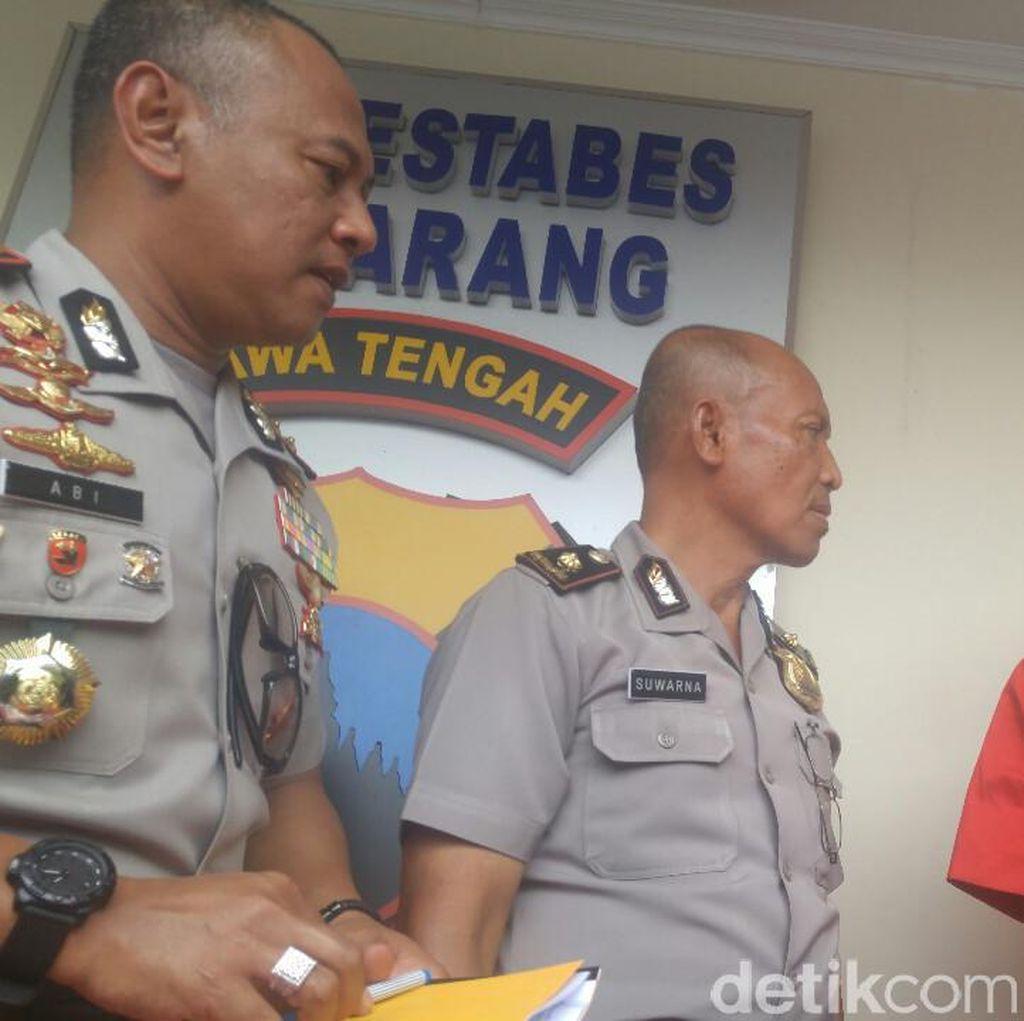 Pria ini Selundupkan Sabu Pakai Nasi Kucing ke Tahanan Polrestabes Semarang