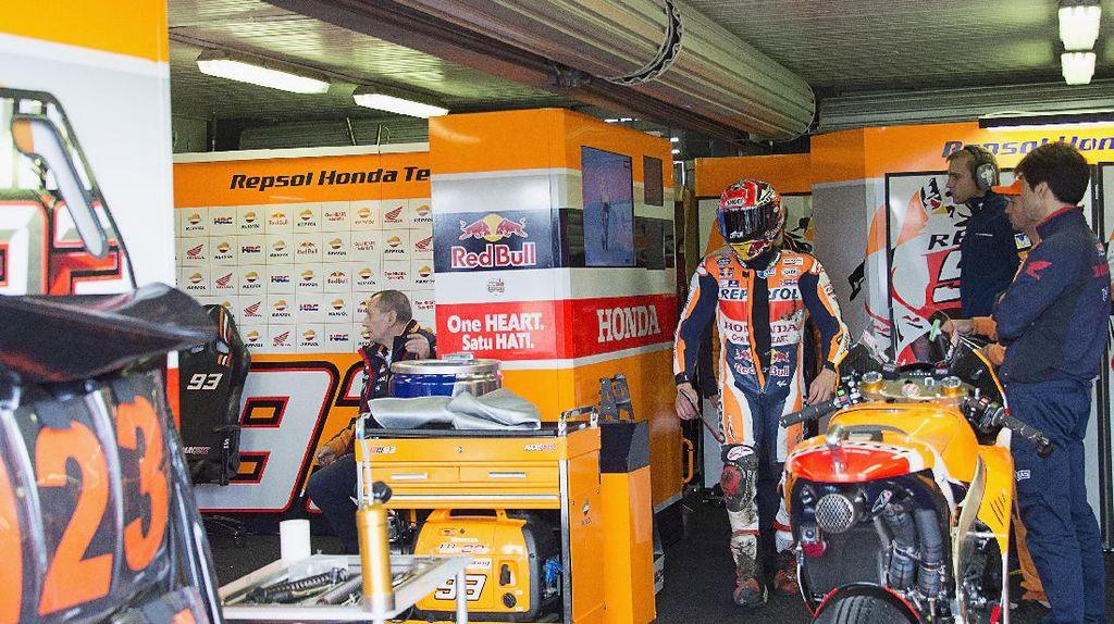 Crash, Marquez Salahkan Diri Sendiri