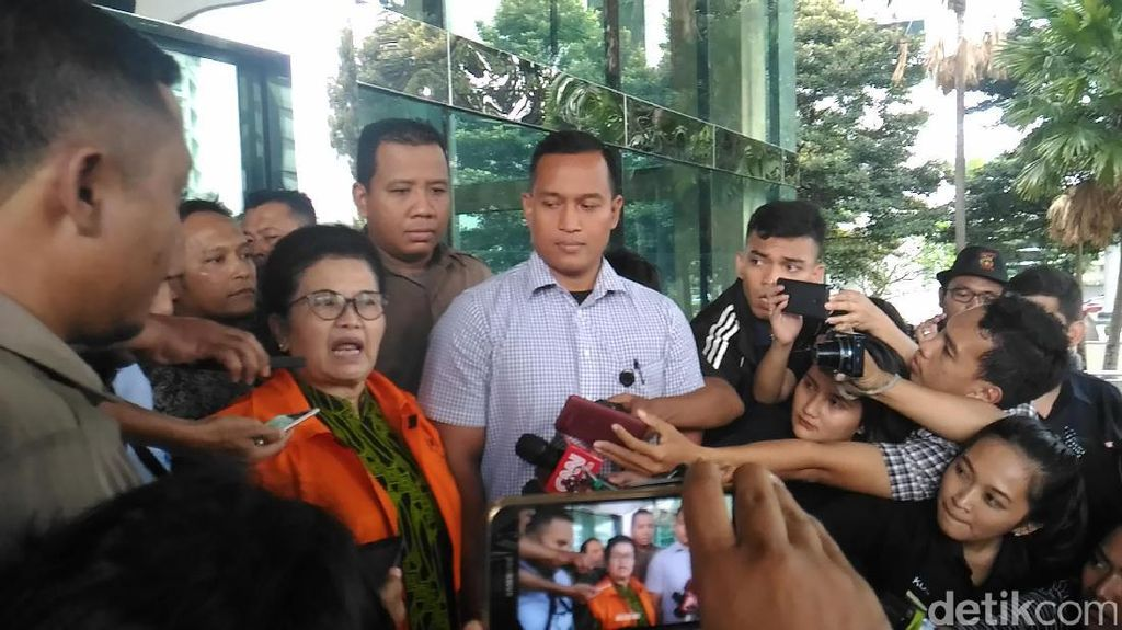 KPK Tahan Eks Menkes Siti Fadilah Terkait Kasus Korupsi Alkes