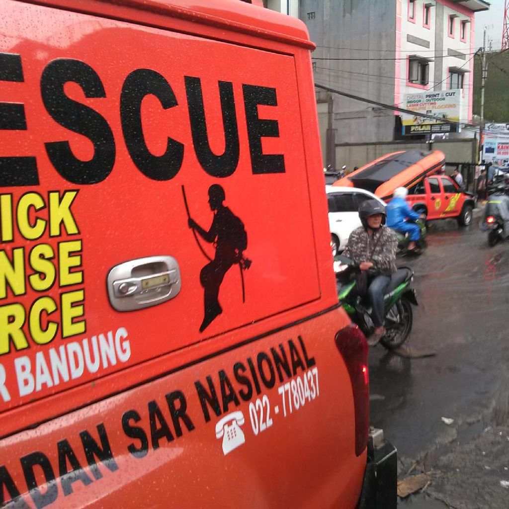Banjir di Pagarsih Sudah Surut, Warga Tetap Waspada Banjir Susulan
