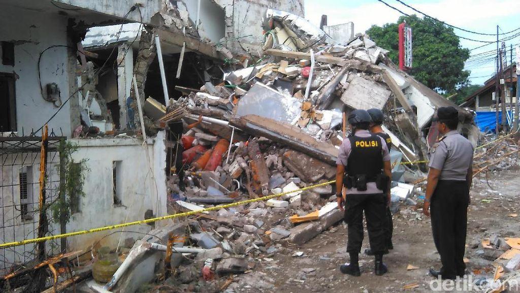 Tim Gegana Datangi Lokasi Ledakan PHD Pondok Melati Bekasi