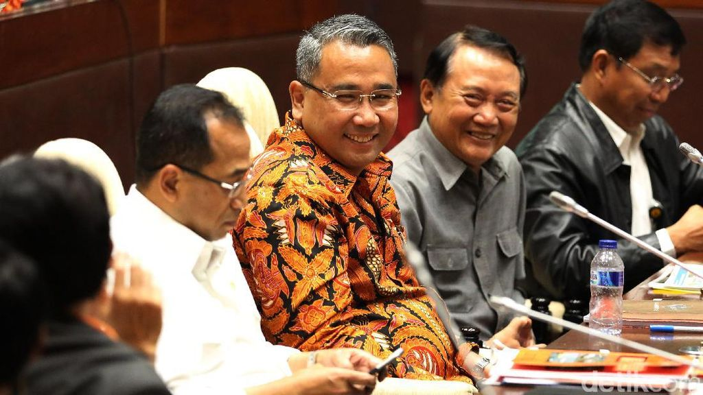 Komisi V dan Sejumlah Menteri Raker Bahas Anggaran Kementerian