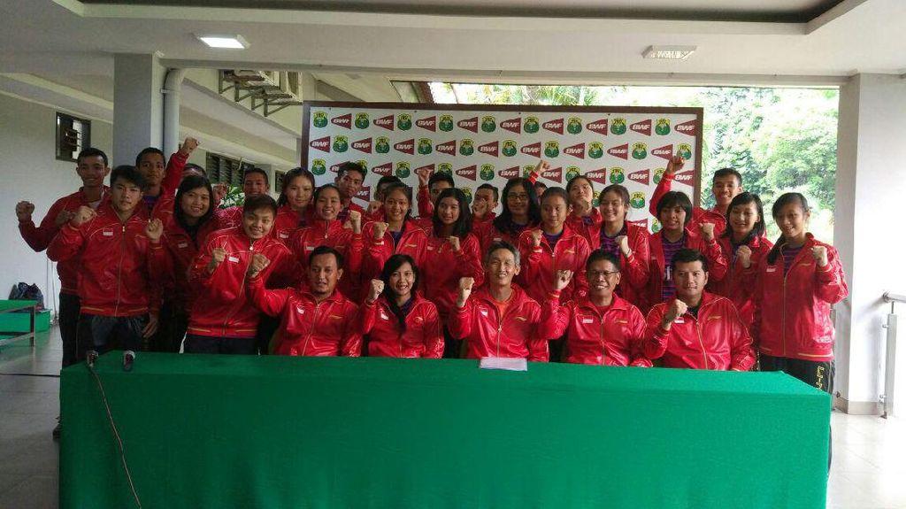 Ke Kejuaraan Dunia Bulutangkis Junior, Indonesia Diminta Tuai Hasil Maksimal