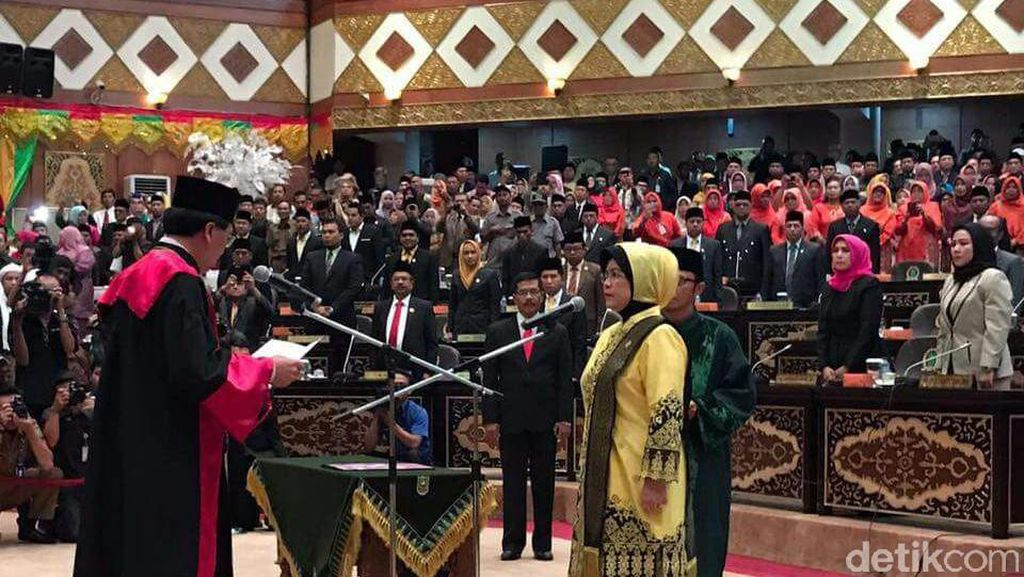Septina, Istri Eks Gubernur Rusli Zainal Dilantik Menjadi Ketua DPRD Riau