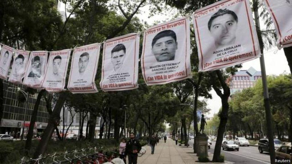 Kasus 43 Mahasiswa Meksiko yang Hilang, Eks Kepala Polisi Ditangkap