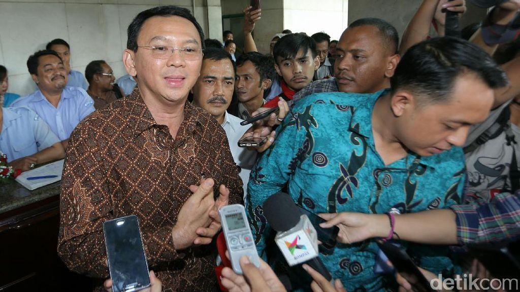Pamitan Sebelum Cuti, Ahok: Jokowi Sudah Tahu Pengganti Saya