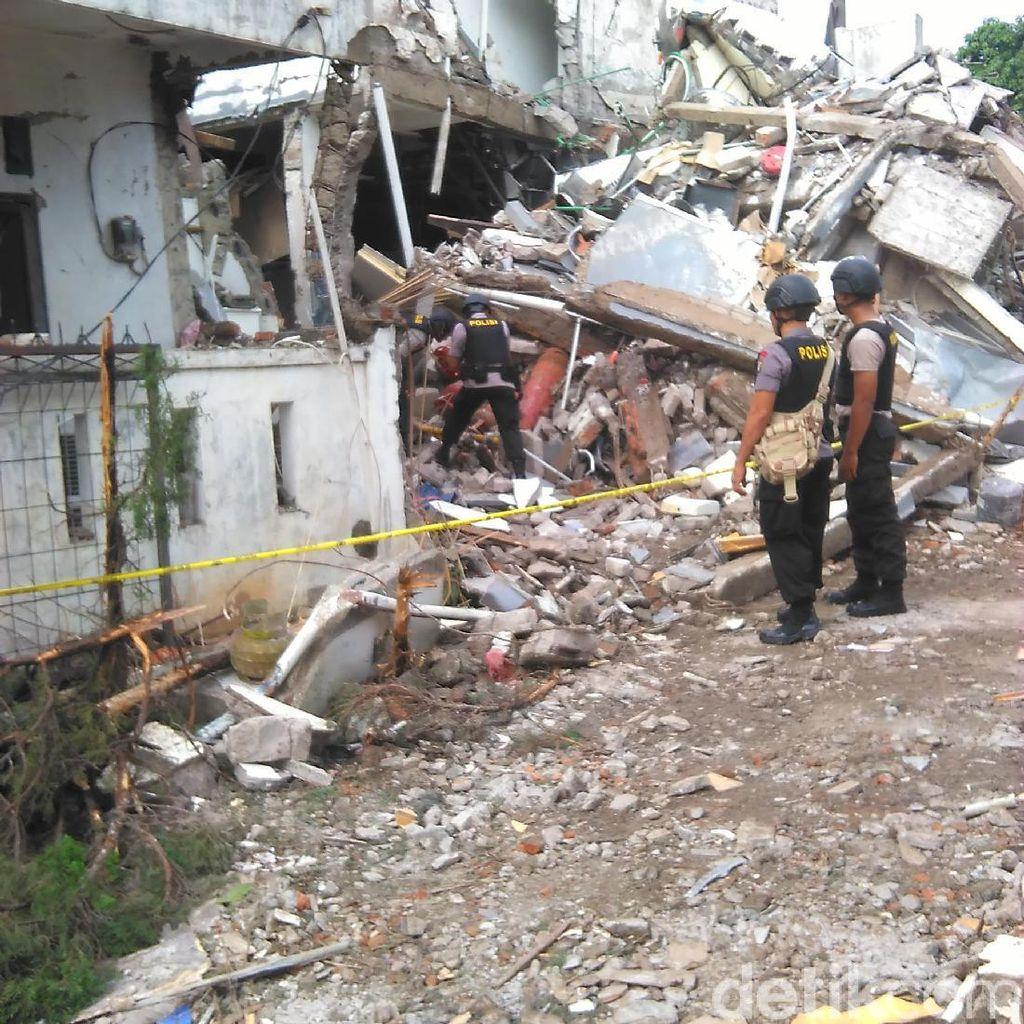 Gas Tercium Menyengat di Lokasi Ledakan PHD, Evakuasi Tabung Tunggu Teknisi