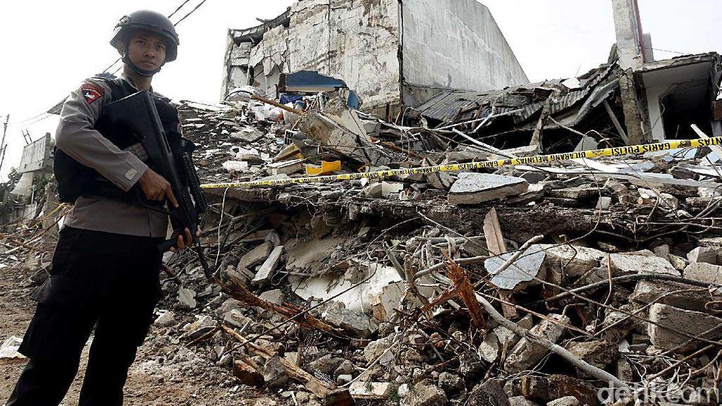Tim Gegana Diturunkan ke Lokasi Ledakan PHD Pondok Melati
