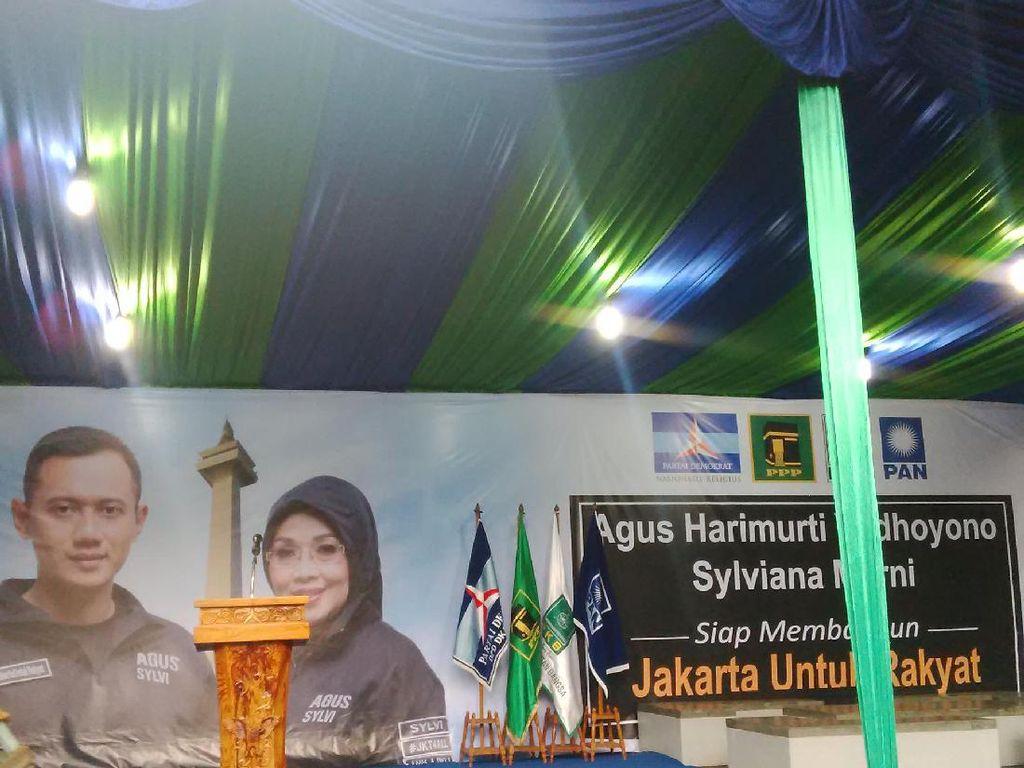 Jelang Penetapan Cagub DKI, Agus Yudhoyono dan SBY Kumpul di Kantor PD