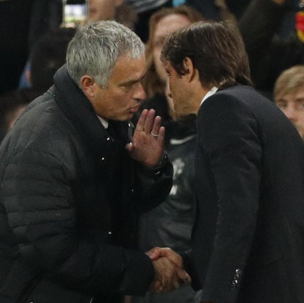 Del Bosque Soal Perayaan Conte: Mourinho Ada Benarnya