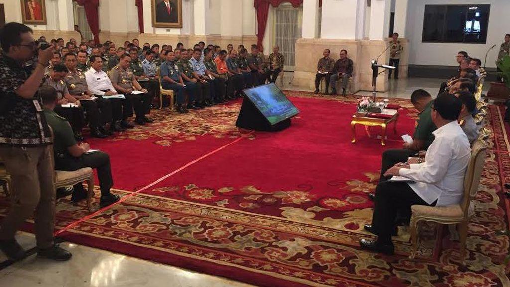 Jokowi Kumpulkan Kapolda dan Pangdam Bahas Pungli dan Pilkada