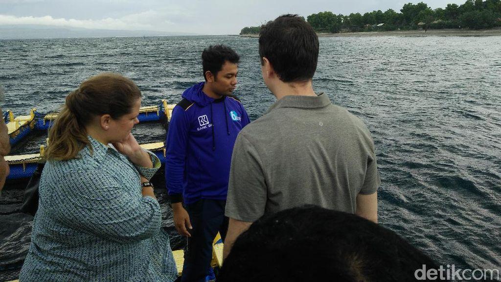 Saat Konsul Jenderal AS Kepincut Wisata Bangsring Underwater