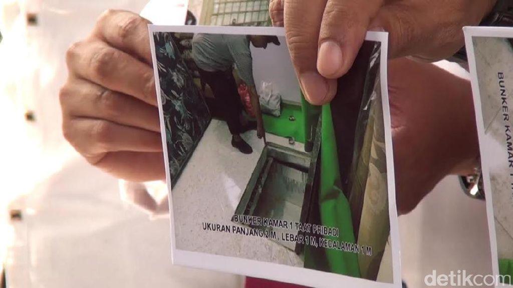 2 Bungker Ditemukan di Dekat Rumah Istri Dimas Kanjeng, ini Wujudnya