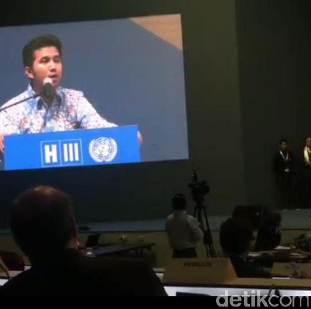Ini Isi Lengkap Pidato Bupati Emil di Depan Sidang PBB