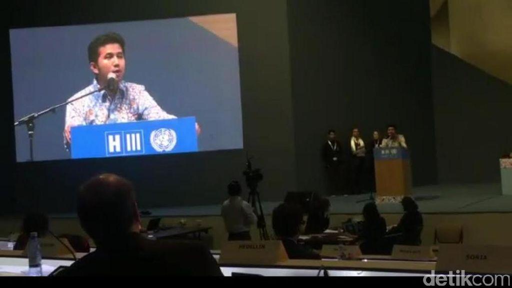 Cerita Bupati Emil yang Mendadak Diminta Pidato di Sidang PBB