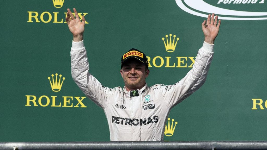 Rosberg Sudah Alihkan Fokus ke Meksiko