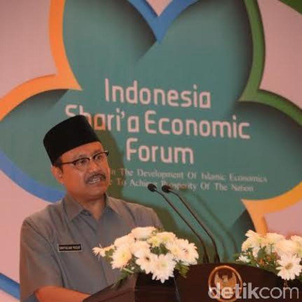Wagub Jatim Gus Ipul Dorong Ekonomi Syariah Berkembang Pesat