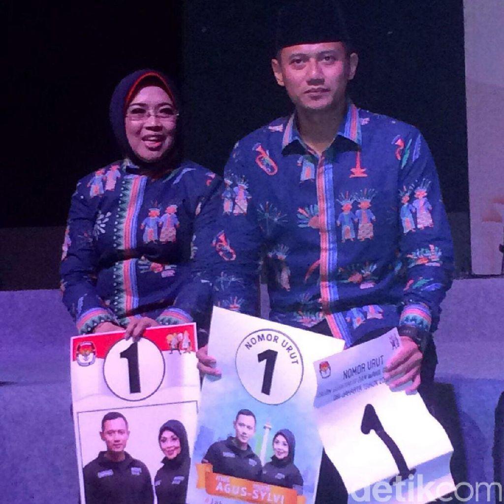 Pantun Agus Yudhoyono Setelah Dapat Nomor Satu di Pilgub DKI