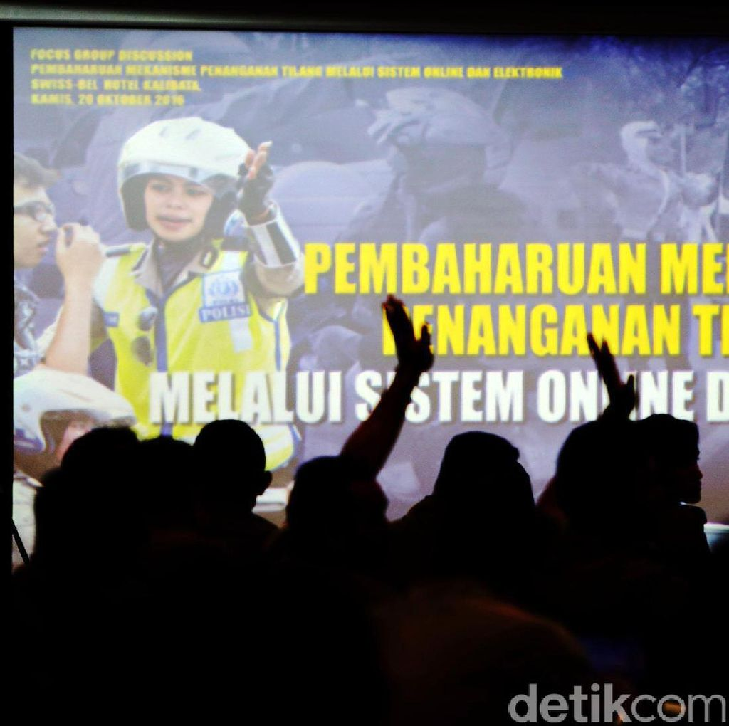 Korlantas Siap Jalankan Tilang Online