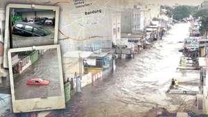 Kota Bandung Dilanda Banjir
