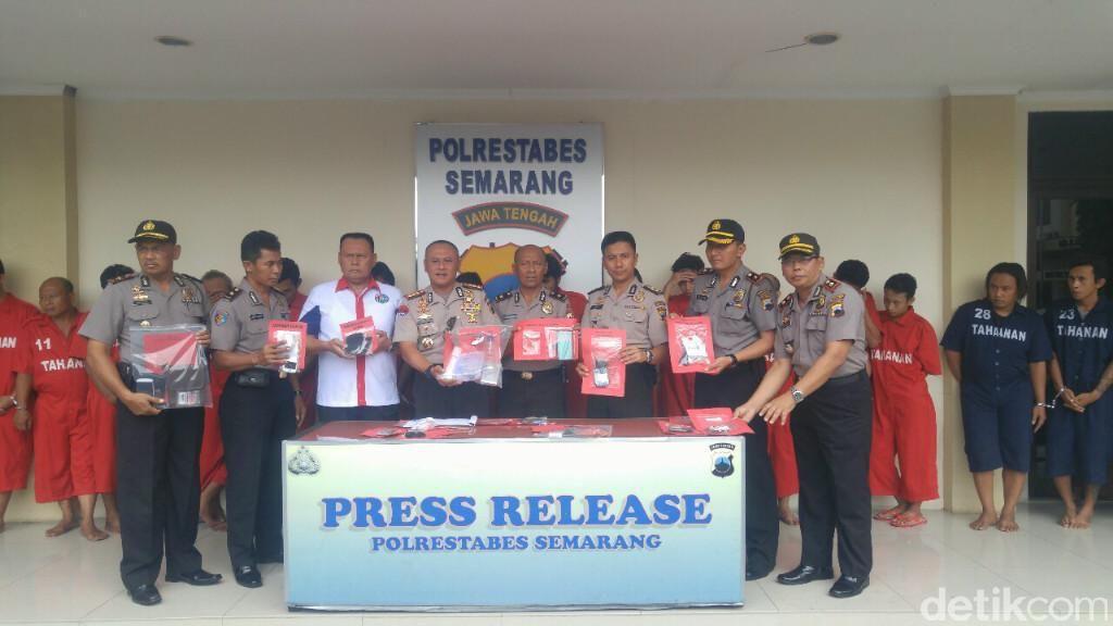 Dalam 100 Hari, 88 Tersangka Kasus Narkoba Ditangkap di Semarang