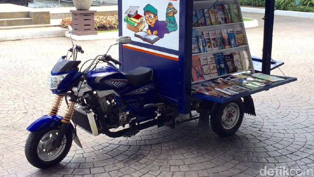 Tingkatkan Minat Baca, 10 Perpustakaan Motor Siap Blusukan di Jakarta