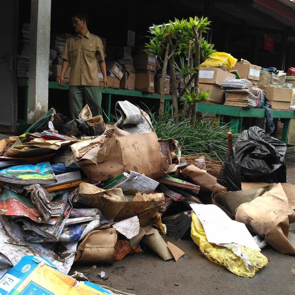 Kerugian SMAN 9 Bandung karena Banjir Ditaksir Mencapai Rp 200 Juta